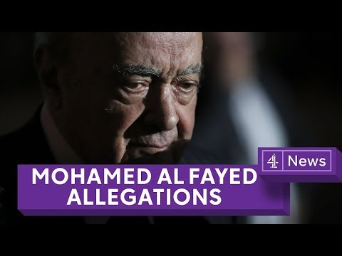 New allegations of sexual assault against Mohamed Al Fayed by three women