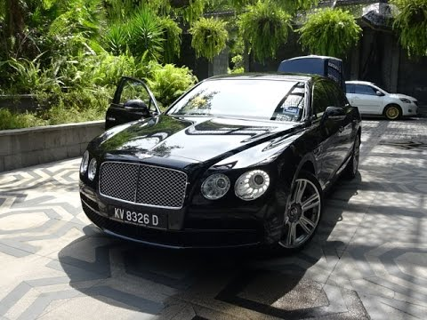 Bentley Flying Spur - St Regis Hotel Airport transfer, Langkawi, Malaysia