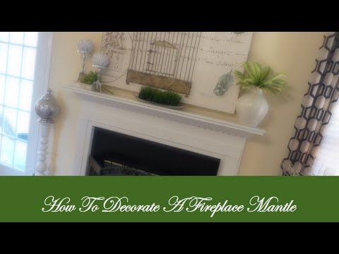 Tips On How To Decorate A Fireplace Mantle