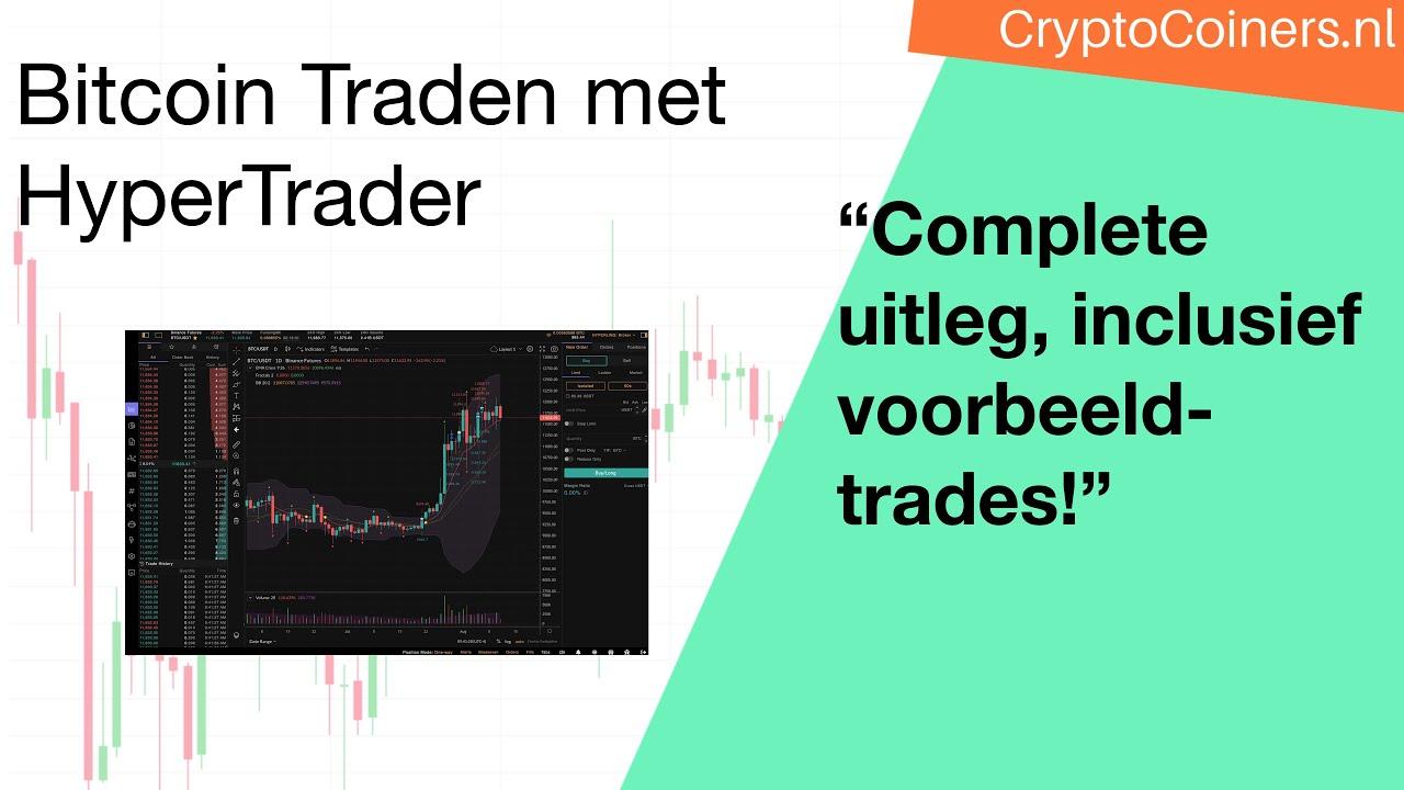 Bitcoin traden met HyperTrader