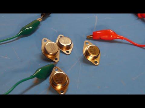 2N3055 Power Transistor Test