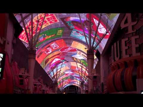 Fremont Street Experience Las Vegas Light Show Full HD!