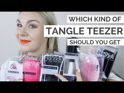 Which Tangle Teezer Should You Get??? | ADVICE