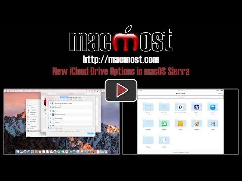 New iCloud Drive Options in macOS Sierra (#1230)