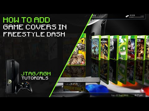 How To Add Game Covers In Freestyle Dash