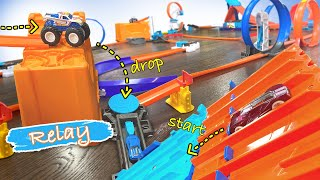 Our LONGEST Hot Wheels Relay Track EVER