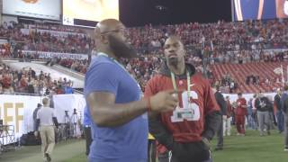 Watch the pre-game scene on the sidelines at the National Championship Game