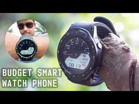 $59 TenFifteen F1 BUDGET SMART WATCH PHONE Unboxing And Review