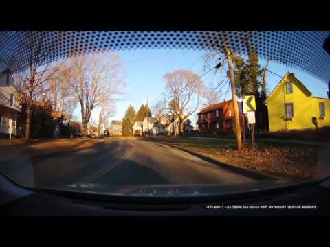 Connecticut Dashcam Takes the Road Test