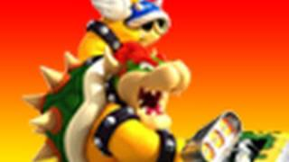 Mario Kart Wii Time Trail Bowser Castle 3 World Champ