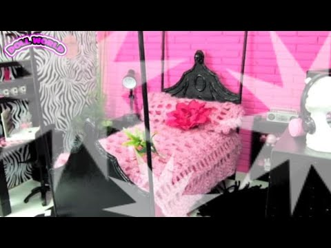 How to Make a Doll Bed for Monster High Dolls