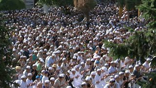 Muslims in northwest China Celebrate Eid Al-Fitr Festival