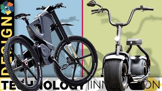 5 AWESOME SCOOTERS and E BIKES That Could Change How You Travel 8◄