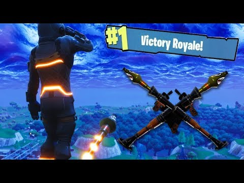 ROCKET RIDING to stop the METEOR!! - FORTNITE (Victory Royale)