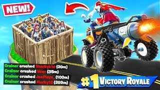 Winning with *ONLY* Quadcrasher Challenge in Fortnite Battle Royale