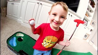 FATHER SON HOUSE GOLF!