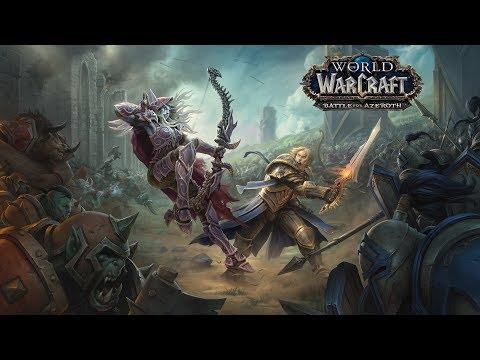 Battle for Azeroth Quality Test Stream - No Audio!