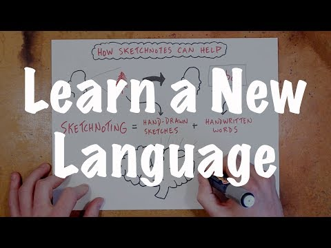 Learn a New Language with Sketchnotes