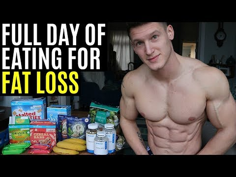 FULL DAY OF EATING FOR FAT LOSS | My Cutting Diet to get SHREDDED