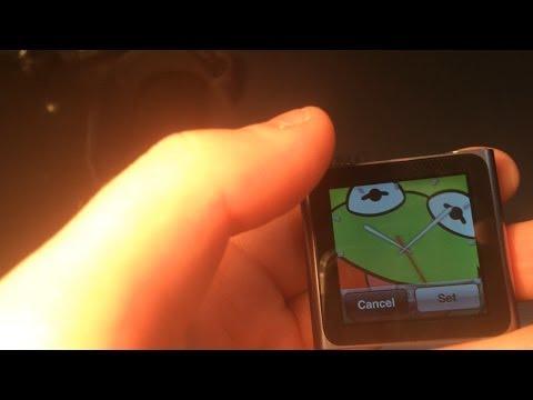 Strange clocks?! On iPod Nano 6th Gen