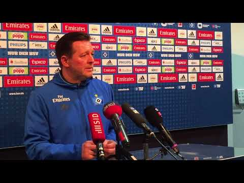 HSV-Trainer Titz hadert noch mit dem Remis in Stuttgart