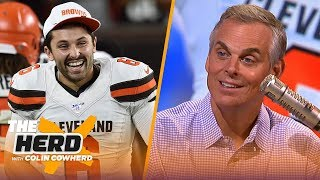 Colin gives Jerry Jones advice & says Baker won't benefit from hesitance to change | NFL | THE HERD