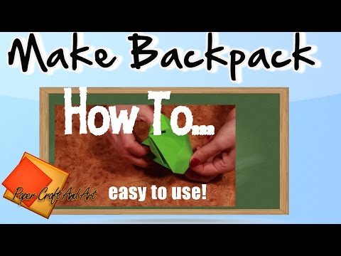 How to make Backpack