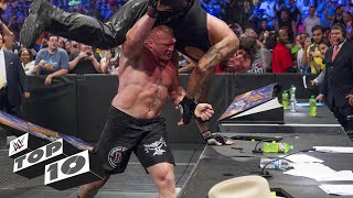 Big men breaking tables: WWE Top 10, Dec. 18, 2017
