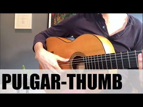 How To Use The Thumb in Flamenco Guitar (EASY!)