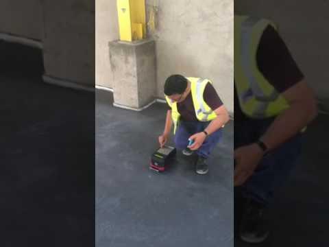 Durafloor Flatness measurement using FloorPro