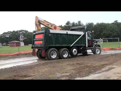 Volvo Dump Truck Driving