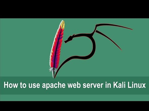Kali Linux Course (19 How to use Apache Web Server in Kali Linux)