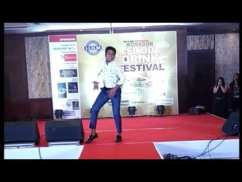 Our Cultural Head's Performance in Lollipop Song at IIHM Monsoon Food & Drink Festival 2017 .. 😊