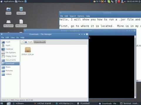 How to run a Java file/make executable in Linux.