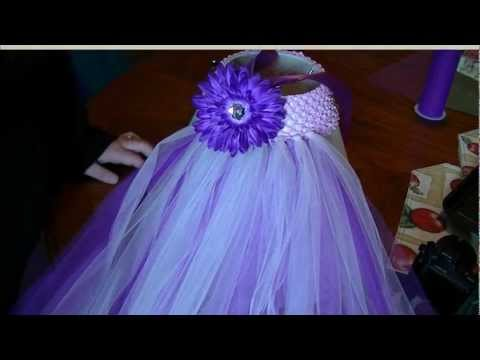 How to Make a Tutu Dress