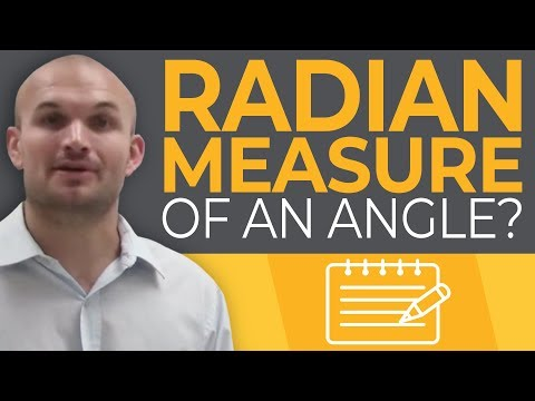 Tutorial - What is the radian measure of an angle