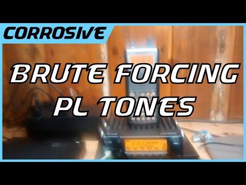 Brute Forcing Radio Repeater PL Tones