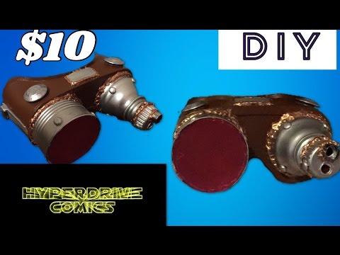 $10 DIY Steampunk Goggles