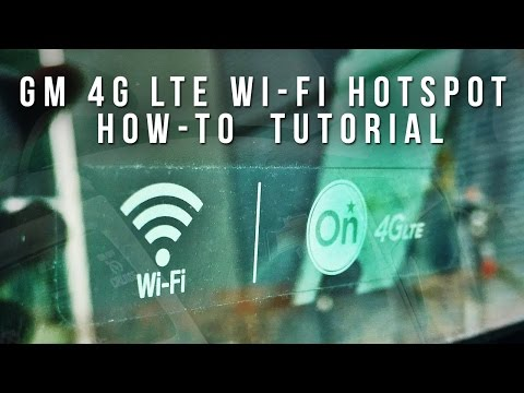 GM 4G LTE Wi-Fi Hotspot How-To (Tutorial)