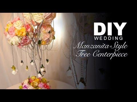 DIY | Manzanita Style Tree Centerpiece