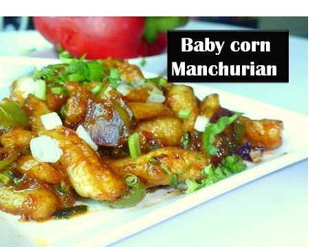 Babycorn Manchurian dry|  secret Restuarant style to get crispier baby corn |Indo chinese cuisine