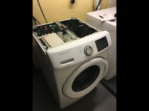 How to adjust Water Level on SAMSUNG Front Loader Washing Machine
