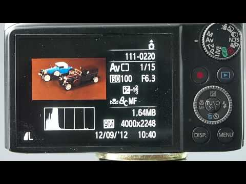 Understanding the Canon Powershot SX compact Digital camera - White Balance