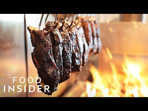 Ribs Cook Over A 900 Degree Oven For 5 Hours