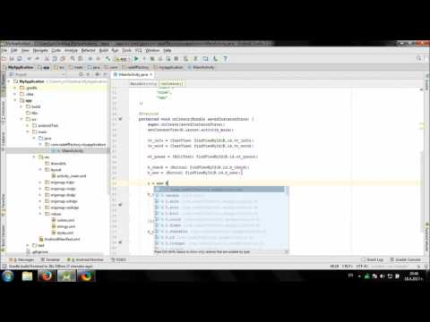 Develop simple Anagram game in Android Studio