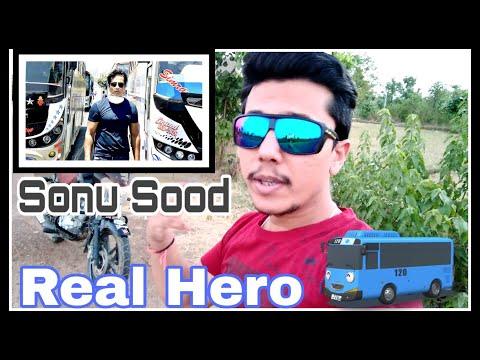 Sonu Sood Helping Migrants ll Actor Sonu Sood Arranges Special Buses for Migrants ll mayur sharma