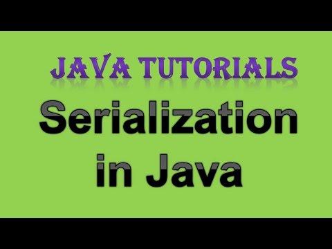 12.3 Object Serialization in java   Serializable Interface