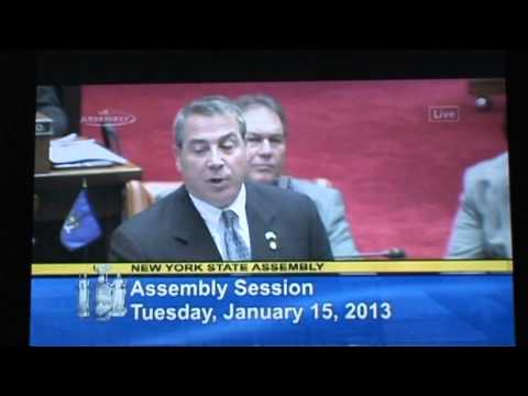 NYS Assemblyman David DiPietro... What if they don't register their guns?