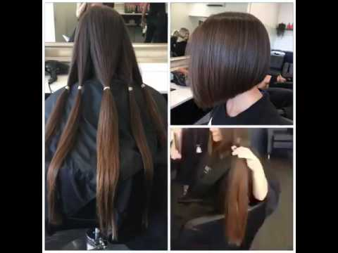 Women Haircut Long To Short