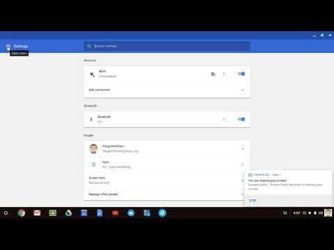 Update Chrome OS on Chromebooks